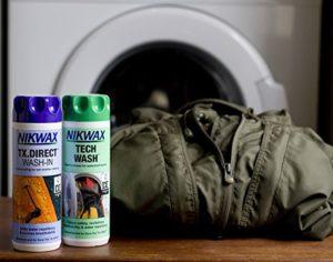 Regenmantel waschen - Nikwax Tech Wash